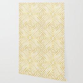 Gilded Bars Wallpaper