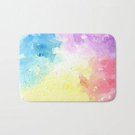 watercolor Bath Mat