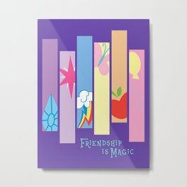Minimal Magic Metal Print