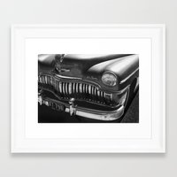 car Framed Art Prints featuring Car by Kathleen Stephens
