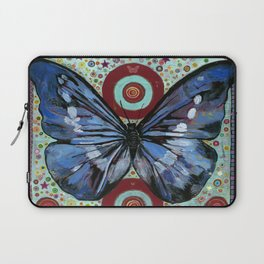 """Big Blue Butterfly"" copyright Ray Stephenson 2013 Laptop Sleeve"
