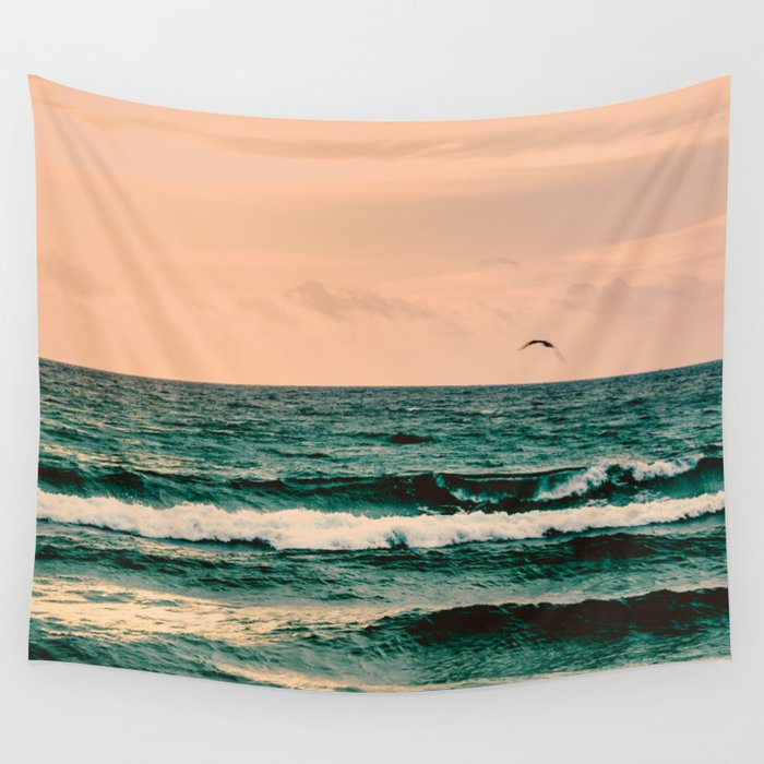 Escape to Paradise Wall Tapestry