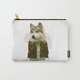 wolf jacket Carry-All Pouch