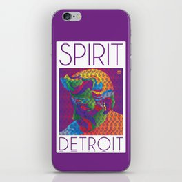 Spirit Detroit iPhone Skin