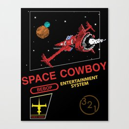 NES Cowboy Bebop Canvas Print