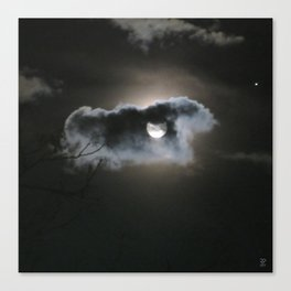 """Full Moon"" Canvas Print"