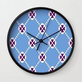 Bluey Huey Wall Clock