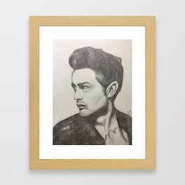 'what you say to me' Framed Art Print