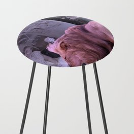 Searching the Beauty. African Invasion Counter Stool