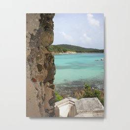 At Ruins Edge Metal Print