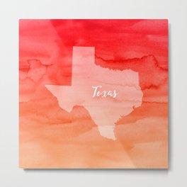 Sweet Home Texas Metal Print