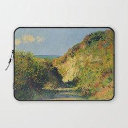 """Claude Monet """"Le chemin creux"""" """"(The hollow road)"""" Laptop Sleeve"""