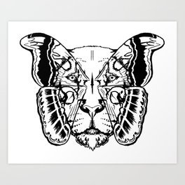 Leoidoproar Art Print