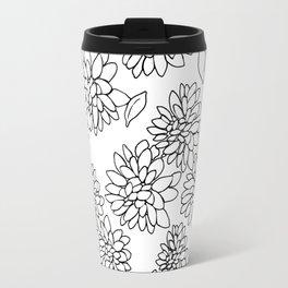 floating dahlias Travel Mug