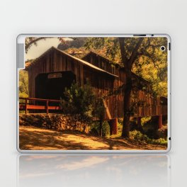 Honey Run Covered Bridge Laptop & iPad Skin