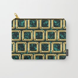 Golden frames pattern Carry-All Pouch