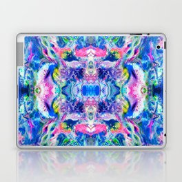 Bathbomb, psychedelic, trip, mushrooms, acid, lsd Laptop & iPad Skin