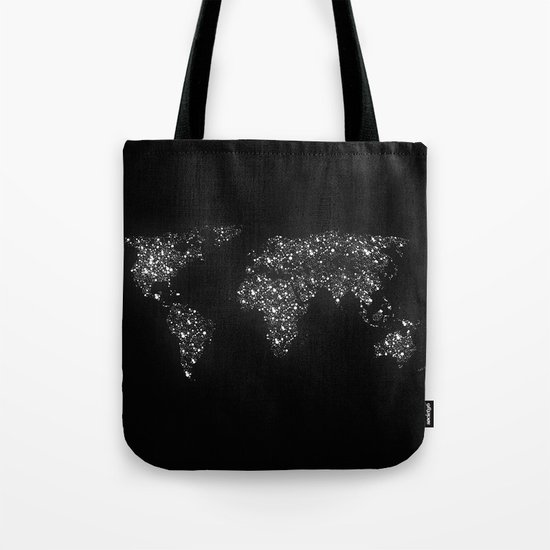 Tiny light spec in the great big universe Tote Bag