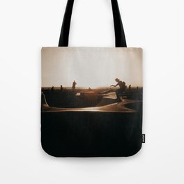 Venice beach skateboarder Tote Bag