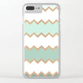 AVALON SEAGREEN 2 Clear iPhone Case