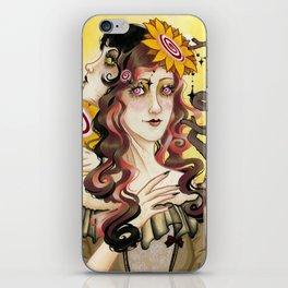 Queen of Wands iPhone Skin
