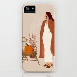 You left me waiting II iPhone Case