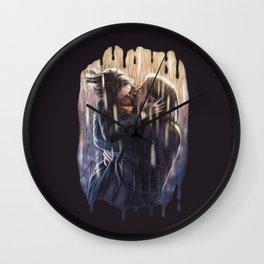 Vanessa & Ethan Wall Clock