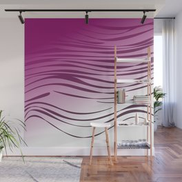 wild tiger ethnic lines jpg Wall Mural