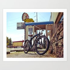 Grit City cruiser Art Print