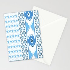 Navajo Glam _ Blue Stationery Cards