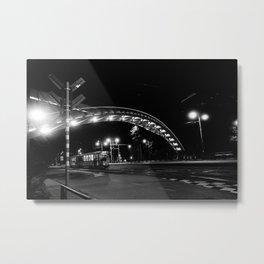 Under the bridge Metal Print