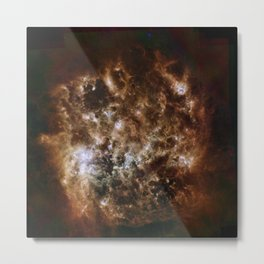 Large Magellanic Cloud, infared Metal Print