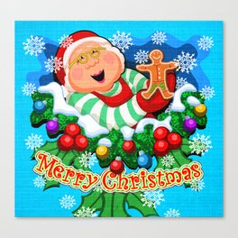 Ms. Claus (2 of 7 Characters) Canvas Print