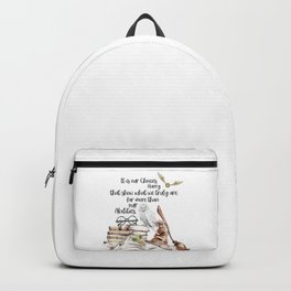 Our Choices Backpack