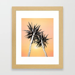 Cali Summer Vibes Palm Trees #2 #tropical #decor #art #society6 Framed Art Print