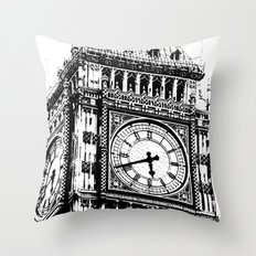 Big Ben 2 - London Series Throw Pillow