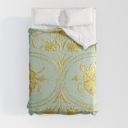 sunshine over versailles Comforters