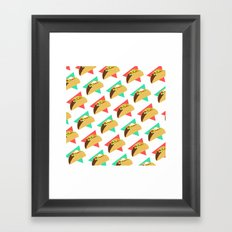 TACO TIME!  Framed Art Print