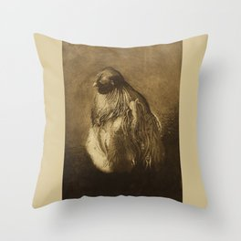 Silkie Rooster Throw Pillow
