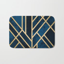 Art Deco Midnight Bath Mat