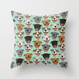 Best Breed Throw Pillow