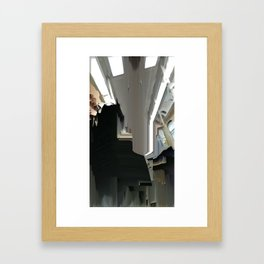 Face Left Framed Art Print