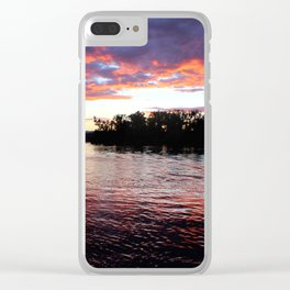 Haunted Hudson Clear iPhone Case
