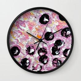 Bubbles 3 Wall Clock