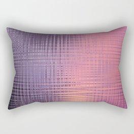 Purple orange sunset Rectangular Pillow