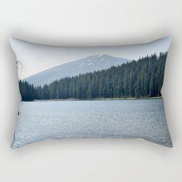 Mountain Spring at Lake Todd Rectangular Pillow