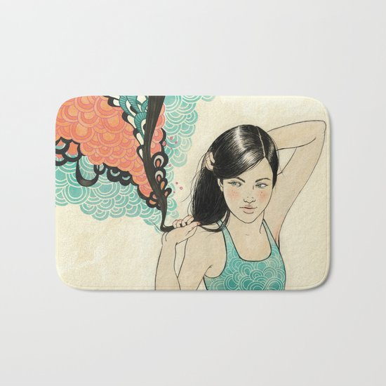 swim Bath Mat
