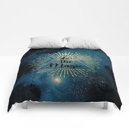 Do the Magic (Night Sky) Comforters