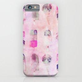 Ice Cream popsicles pastel tone watercolor art iPhone Case