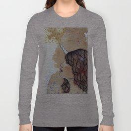 unicorn girl Long Sleeve T-shirt